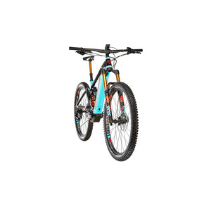 Mondraker Level RR Black/Light Blue/Flame Red